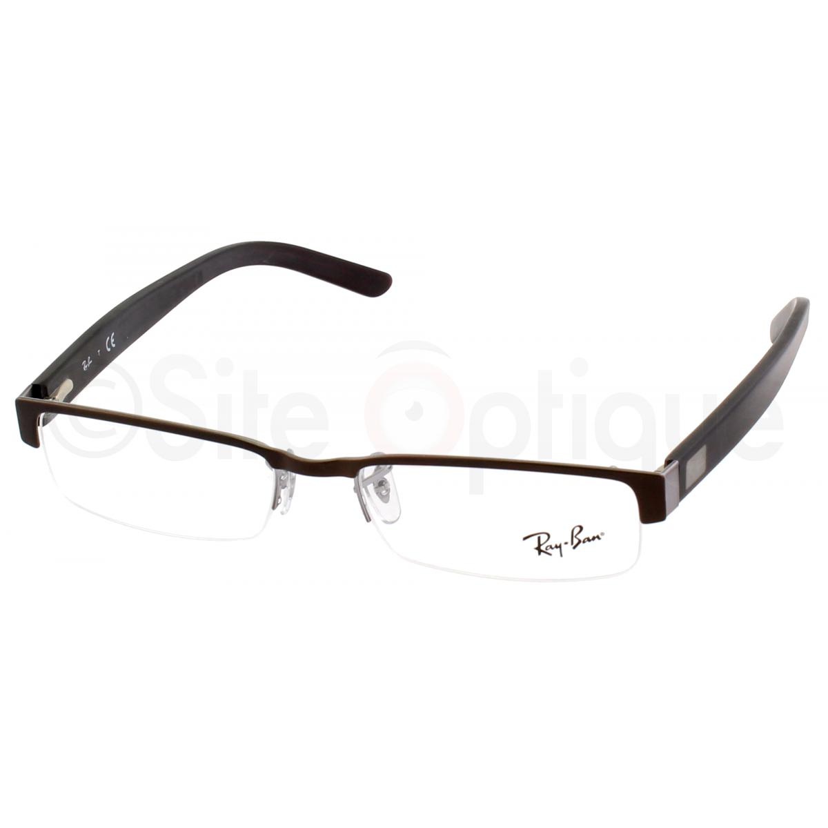 ray ban homme rectangulaire